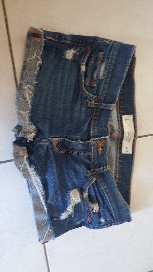Abercrombie & Fitch Shorts blu-blu scuro