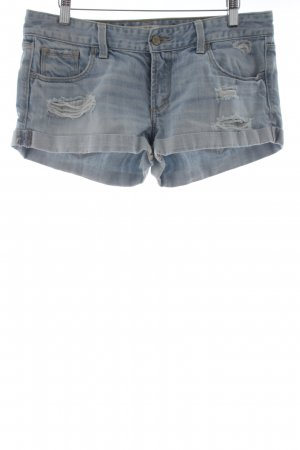 Abercrombie & Fitch Shorts himmelblau Casual-Look