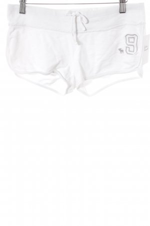 Abercrombie & Fitch Shorts blanco