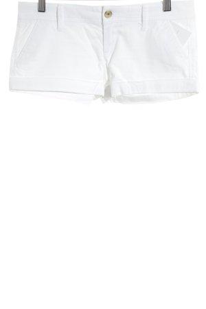 Abercrombie & Fitch Shorts weiß schlichter Stil