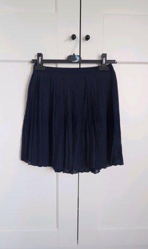 Abercrombie & Fitch Skater Skirt dark blue