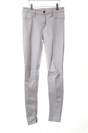 Abercrombie & Fitch Skinny Jeans hellgrau Casual-Look