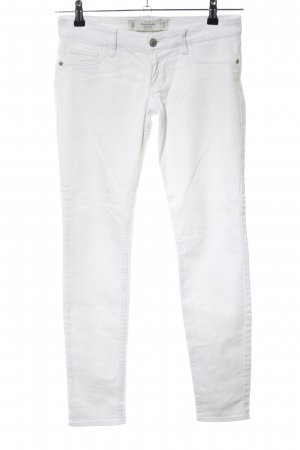 Abercrombie & Fitch Skinny Jeans weiß Casual-Look