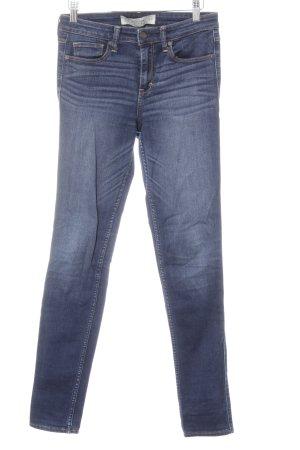 Abercrombie & Fitch Skinny Jeans blau Jeans-Optik