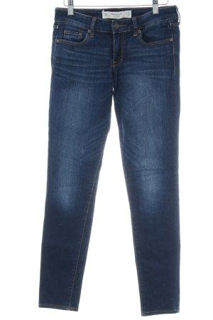 Abercrombie & Fitch Skinny Jeans blau schlichter Stil