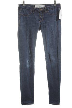 Abercrombie & Fitch Skinny Jeans blau sportlicher Stil
