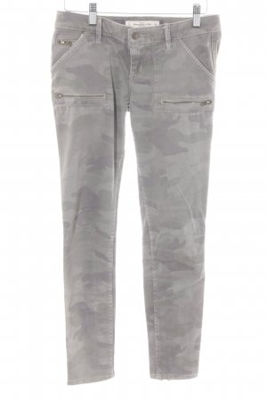 Abercrombie & Fitch Skinny Jeans Camouflagemuster Urban-Look