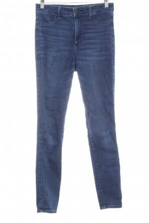 Abercrombie & Fitch Skinny Jeans dunkelblau Casual-Look