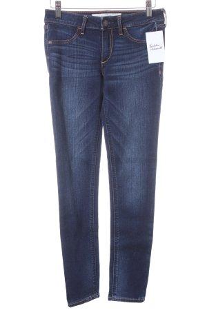 Abercrombie & Fitch Skinny Jeans dunkelblau klassischer Stil