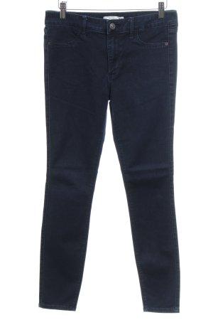 Abercrombie & Fitch Skinny Jeans dunkelblau schlichter Stil