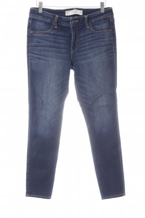 Abercrombie & Fitch Skinny Jeans dark blue simple style