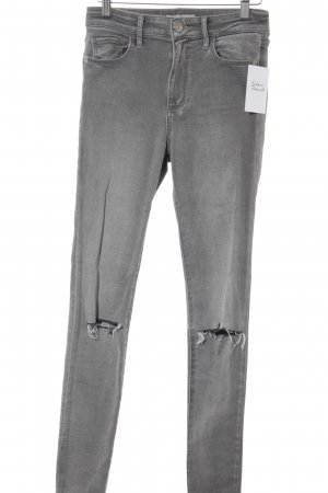 Abercrombie & Fitch Skinny Jeans grau Casual-Look