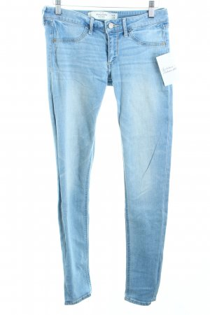 Abercrombie & Fitch Skinny Jeans hellblau Casual-Look