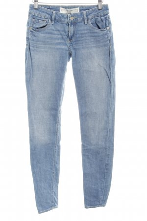 Abercrombie & Fitch Skinny jeans azuur casual uitstraling