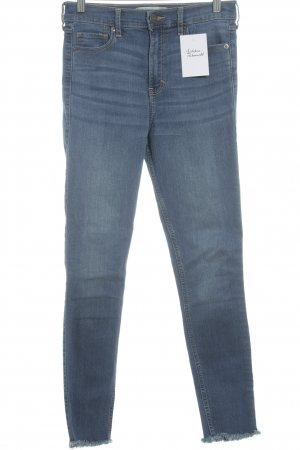 Abercrombie & Fitch Jeans skinny blu fiordaliso stile casual