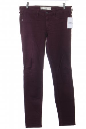 Abercrombie & Fitch Skinny Jeans purpur Casual-Look