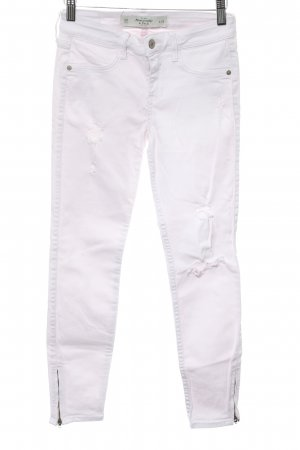 Abercrombie & Fitch Skinny Jeans rosé Casual-Look