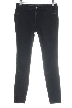 Abercrombie & Fitch Skinny Jeans schwarz Casual-Look