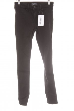 Abercrombie & Fitch Skinny Jeans schwarz Casual-Look