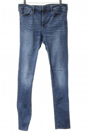 Abercrombie & Fitch Jeans skinny blu acciaio stile jeans