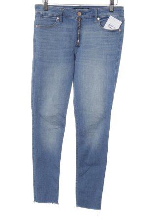 Abercrombie & Fitch Skinny Jeans stahlblau-kornblumenblau Casual-Look