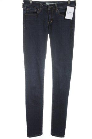 "Abercrombie & Fitch Skinny Jeans ""SUPER SKINNY"" dunkelblau"