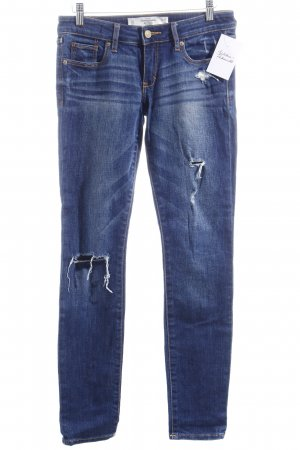 "Abercrombie & Fitch Skinny Jeans ""THE A&F SUPER SKINNY"" dunkelblau"