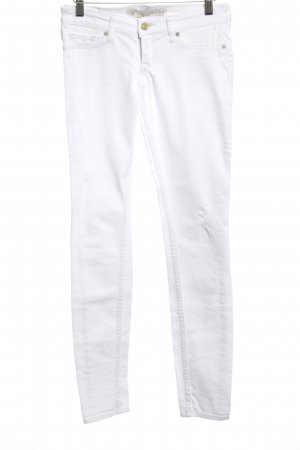 Abercrombie & Fitch Skinny Jeans white casual look