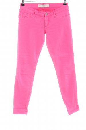 Abercrombie & Fitch Jeans slim fit rosa stile casual