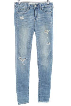 Abercrombie & Fitch Slim Jeans blassblau Casual-Look