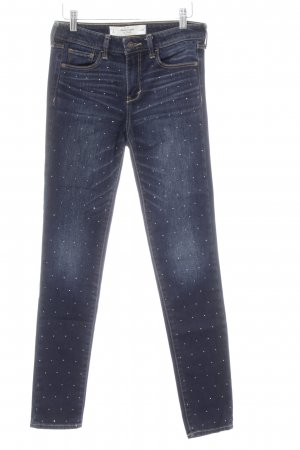 Abercrombie & Fitch Slim Jeans dark blue jeans look
