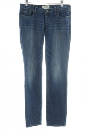 """Abercrombie & Fitch Slim jeans """"Erin"""" donkerblauw"""