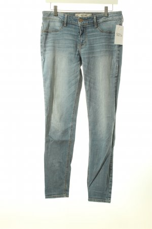 Abercrombie & Fitch Slim Jeans graublau Casual-Look