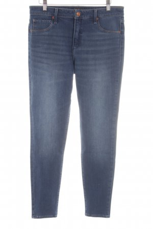 Abercrombie & Fitch Slim Jeans neonblau Casual-Look