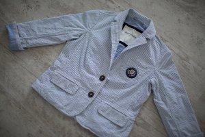 Abercrombie & Fitch Korte blazer leigrijs-lichtblauw