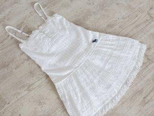 Abercrombie & Fitch Mini Abito bianco