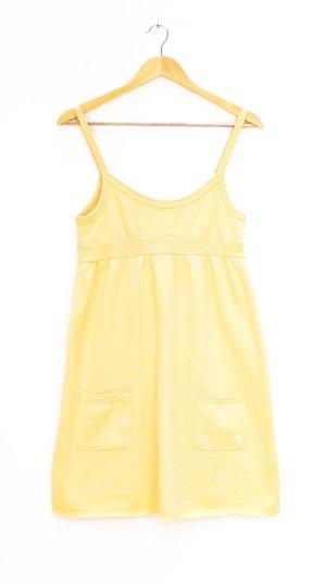 Abercrombie & Fitch Jersey Dress yellow