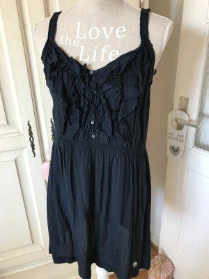 Abercrombie&Fitch Sommerkleid mit Rüschen blau