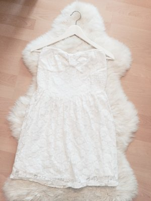 Abercrombie & Fitch Spitzenkleid Kleid Bandeau Dress Gr.L
