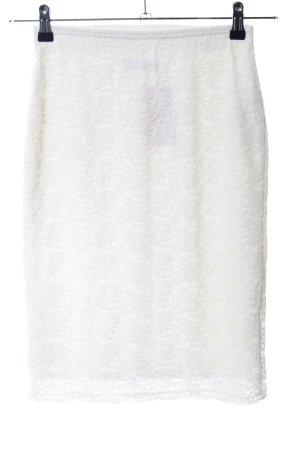 Abercrombie & Fitch Kanten rok wit zakelijke stijl