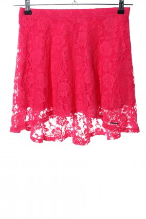 Abercrombie & Fitch Kanten rok rood elegant
