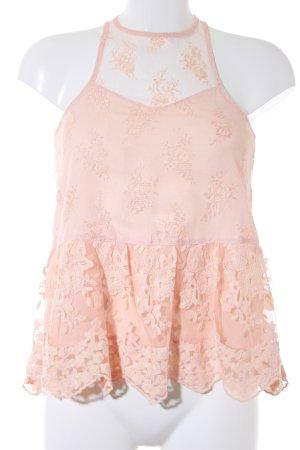 Abercrombie & Fitch Lace Top apricot elegant