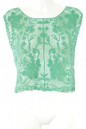 Abercrombie & Fitch Lace Top green beach look
