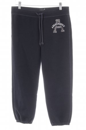 Abercrombie & Fitch Trackies embroidered lettering casual look