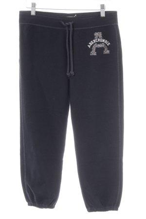 Abercrombie & Fitch Pantalon de sport lettrage brodé style décontracté