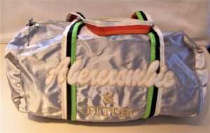 Abercrombie & Fitch Sports Bag multicolored textile fiber