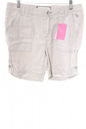 Abercrombie & Fitch Sportshorts hellbeige Casual-Look