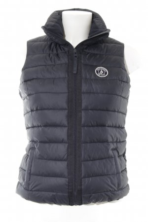 Abercrombie & Fitch Quilted Gilet black-white casual look