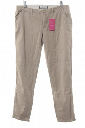 Abercrombie & Fitch Stoffen broek beige casual uitstraling