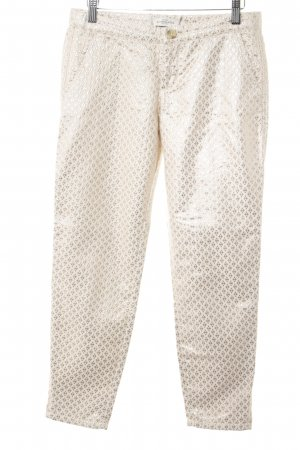 Abercrombie & Fitch Jersey Pants oatmeal-gold-colored abstract pattern elegant
